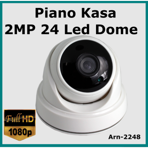 Piano Dome 24LED 3.6 MM Güvenlik Kamerası Arn-2248
