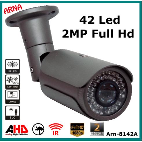 Arna 8142a Metal Kasa 42 Led Ahd Kamera