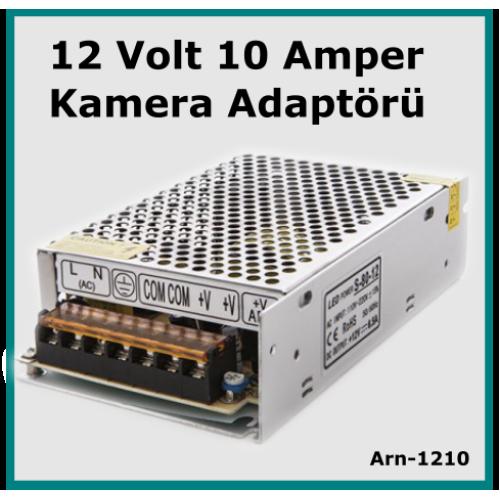 Güvenlik Kamerası Adaptörü 12 Volt 10 Amper