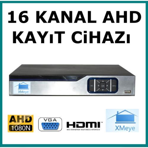 16 Kanal Ahd 1080 2MP Kamera Kayıt Cihazı AR 9016