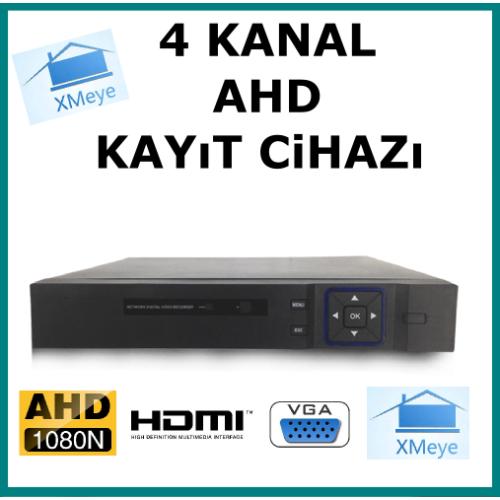 4 Kanal Ahd 1080 2MP Kamera Kayıt Cihazı AR-9004