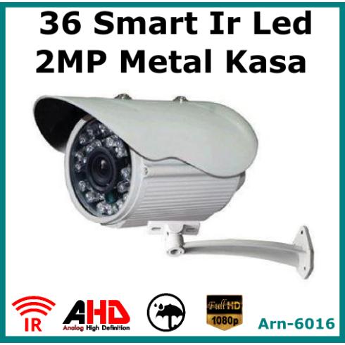 1080P 2MP AHD 36 Big Led Gece Görüşlü Güvenlik Kamerası  AR - 6016