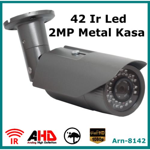 Full Hd 2Mp Arna 8142 Metal Kasa Güvenlik Kamerası