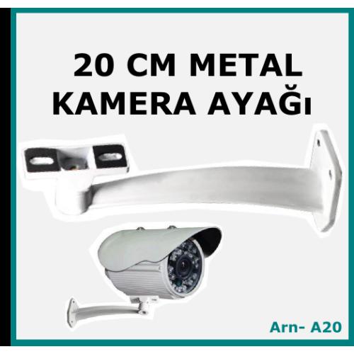 Güvenlik Kamera Ayağı 20 cm Metal