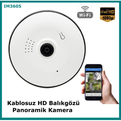 Kablosuz Hd Balıkgözü Bakıcı Kamerası