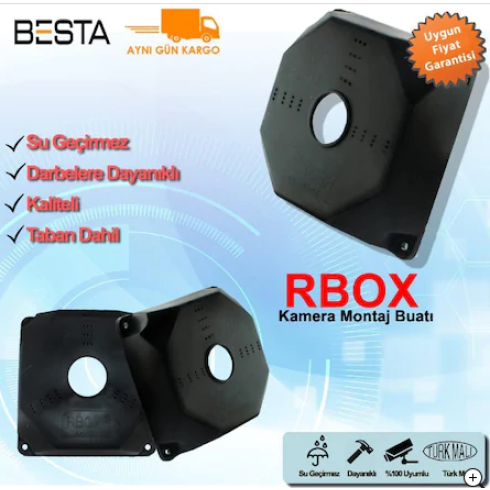 Kamera Montaj Buatı Rbox Siyah