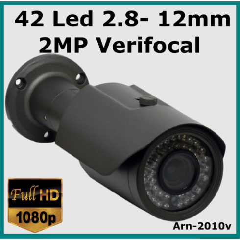 Full Hd VERİFOCAL 42 Led 2.8MM - 12MM Güvenlik Kamerası Arn-2010V