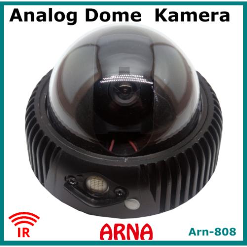 Analog Dome Kamera Gece Görüşlü Metal Kasa Arn808