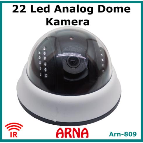 Analog Dome Kamera Gece Görüşlü Arn-809