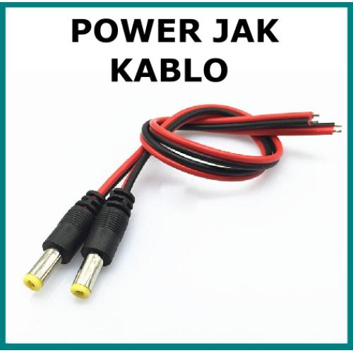 KAMERA BESLEME POWER JACK KABLOSU
