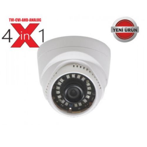 18 Ultra Led 2 Mp Full Hd Ahd Dome Güvenlik Kamerası Arn6329