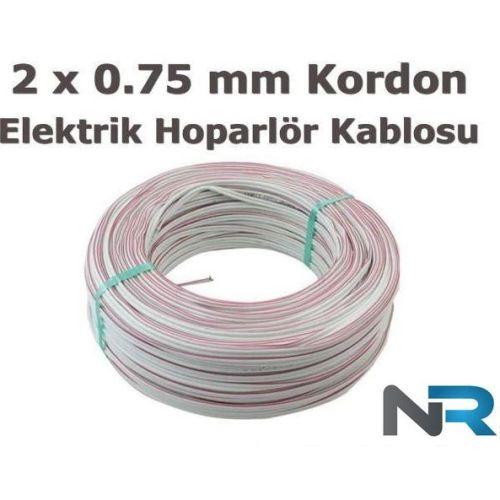 100 Metre 2 X 0,75 Elektrik ve Hoparlör Kablosu