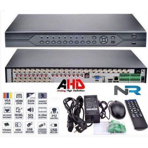 32 KANAL AHD DVR Güvenlik Kamerası Kayıt Cihazı