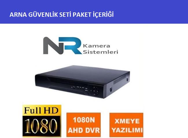 2 kameralı güvenlik kamerası sistemi